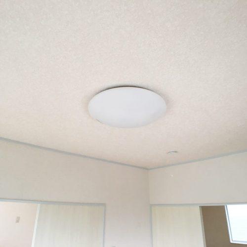 LEDシーリングライト 全室に装備