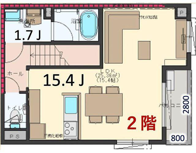 2階見取図