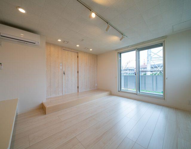 防音室 グランドピアノの設置を想定した2重構造の防音室。12帖の広さを確保。