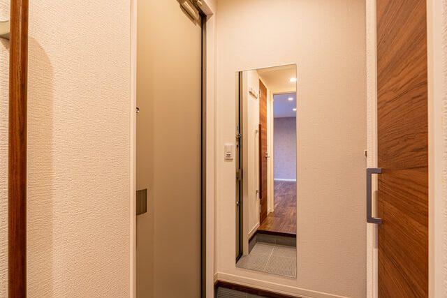 玄関ホール ミラー,シューズボックス,ハットフック