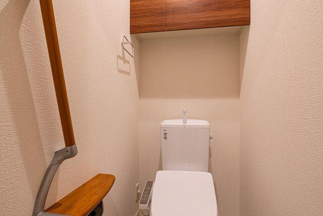 1階トイレ 来客用トイレとしても使用可能です。